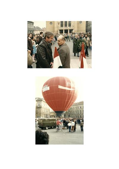 1990. március 15-i megemlékezés (Sopron)