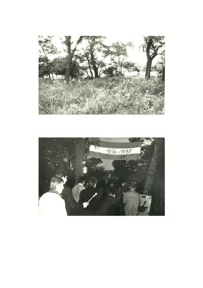 A Jánostelepi rabtemető avatása (1989. június 15.)
