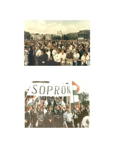 Fotók Nagy Imre újratemetéséről (1989. június 16.)