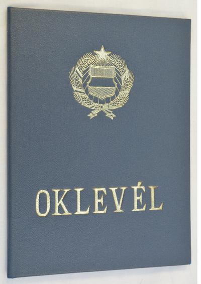 Főiskolai oklevél (Pécs, 1989)