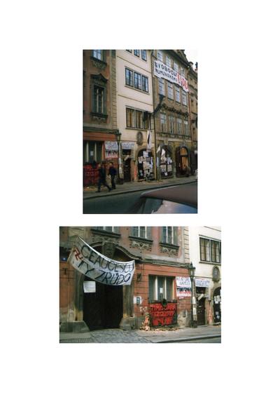 Fotók Prágából (1990. január)