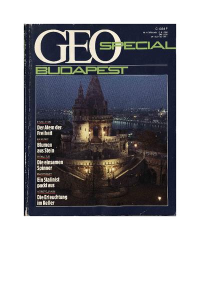 Geospecial - magyarországi különszám
