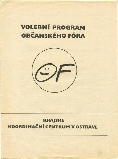 Volební program Občanského fóra