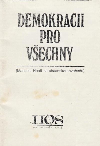 Demokracii pro všechny