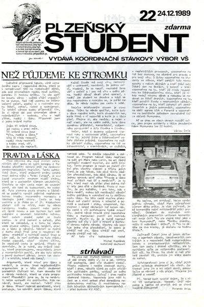 Plzeňský student