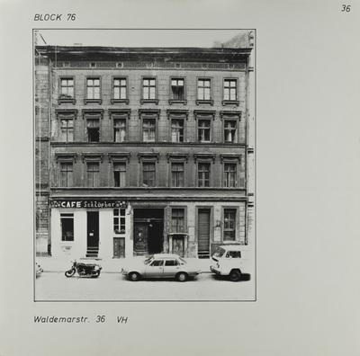 Fotografie: Waldemarstr. 36, um 1981