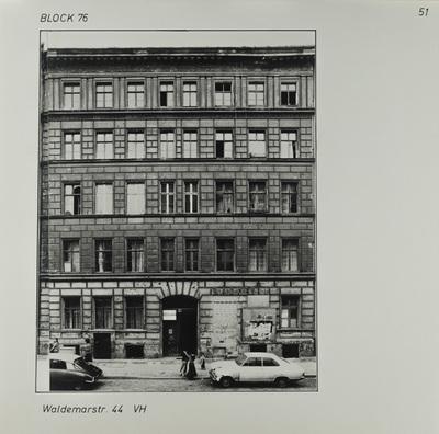 Fotografie: Waldemarstr. 44, um 1981
