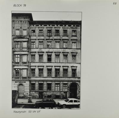 Fotografie: Naunynstr. 59, um 1981