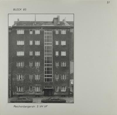 Fotografie: Reichenberger Str. 5, um 1981