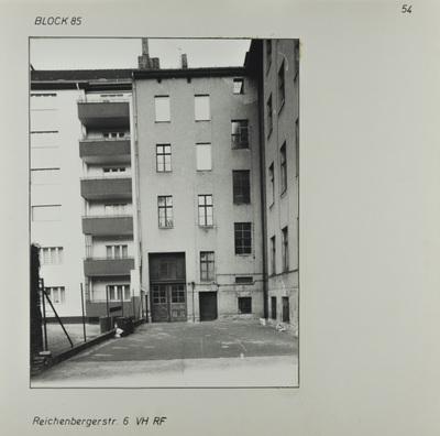 Fotografie: Reichenberger Str. 6, um 1981