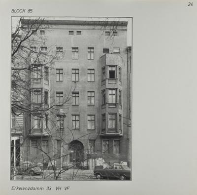 Fotografie: Erkelenzdamm 33, um 1981