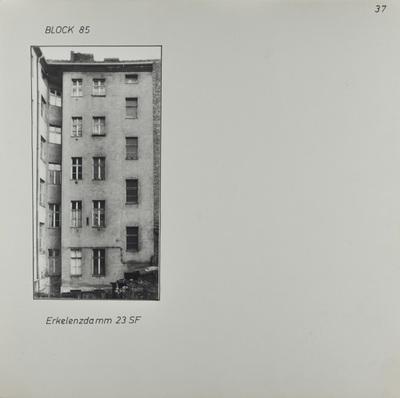 Fotografie: Erkelenzdamm 23, um 1981