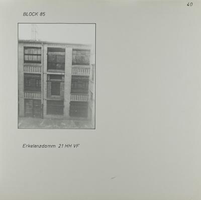 Fotografie: Erkelenzdamm 21, um 1981