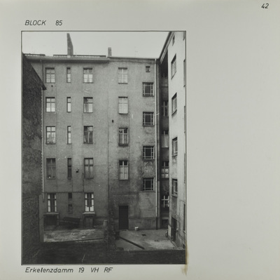 Fotografie: Erkelenzdamm 19, um 1981