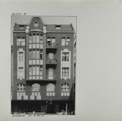 Fotografie: Dresdener Str. 8