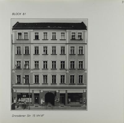 Fotografie: Dresdener Str. 15