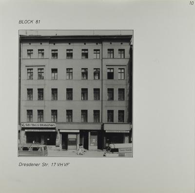 Fotografie: Dresdener Str. 17, 1983