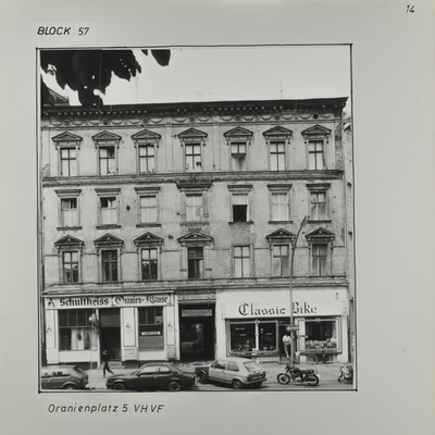 Fotografie: Oranienplatz 5, um 1987