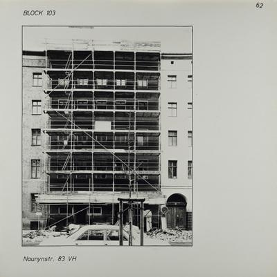 Fotografie: Naunynstr. 83, 1983