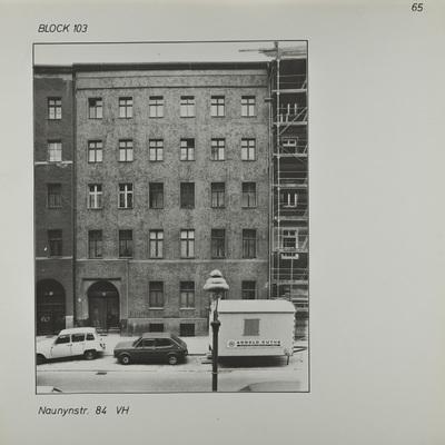 Fotografie: Naunynstr. 84, 1983