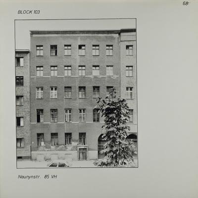 Fotografie: Naunynstr. 85, 1983