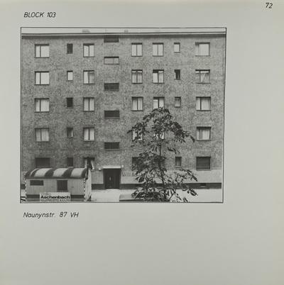 Fotografie: Naunynstr. 87, 1983