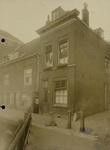 Panden gelegen om het Boerenverlaat voor de herstelwerkzaamheden, 24 januari 1924