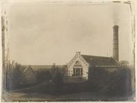 Het stoomgemaal van polder De Nesse, circa 1884