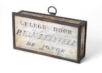 Eerste steen gelegd door P. van Lelyveld, 1805