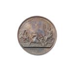 Bronzen gedenkpenning Katwijkse werken, 1807