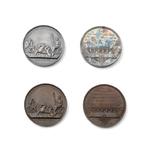 Zilveren gedenkpenning Katwijkse werken, 1807