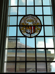Glas-in-lood-raam, 17e eew