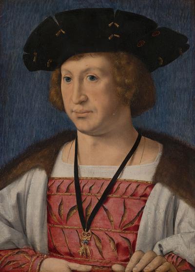 Portret van Floris van Egmond (1469-1539)