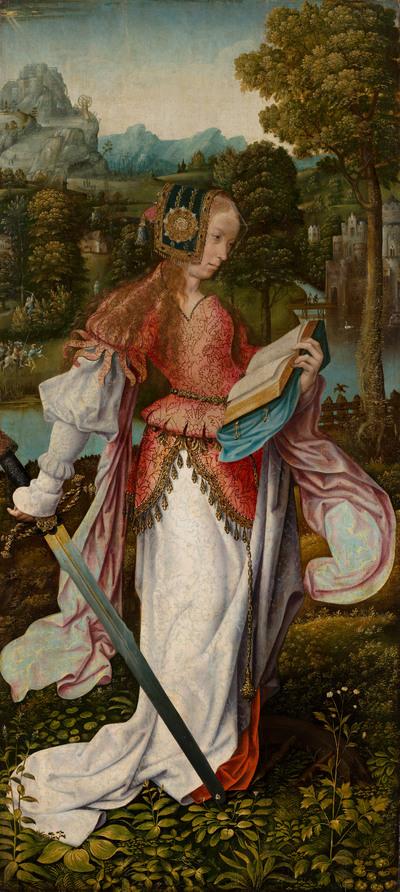 De heilige Catharina