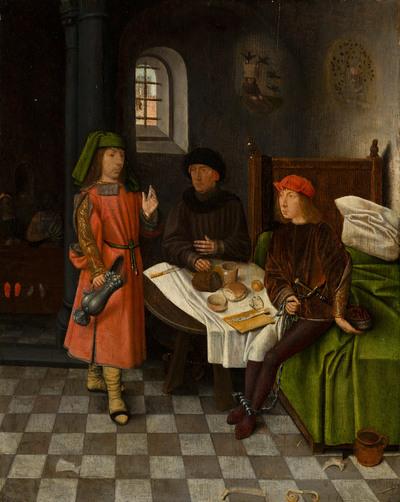 Jozef verklaart de dromen van de bakker en de schenker