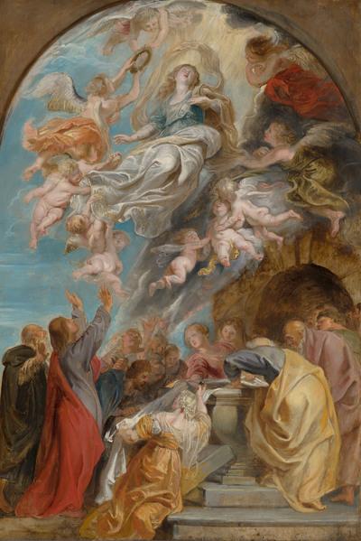 'Modello' voor de Hemelvaart van Maria