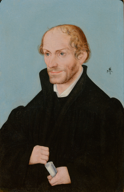 Portret van Philipp Melanchton (1497-1560)