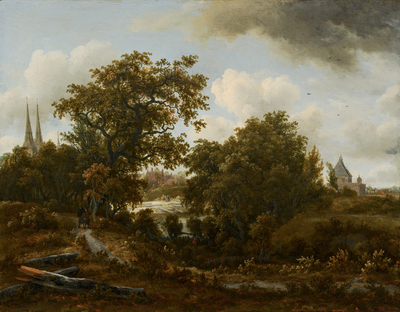Landschap bij Deventer