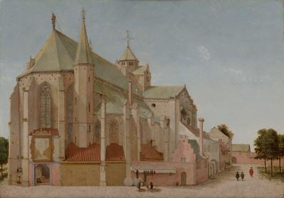De Mariaplaats met de Mariakerk in Utrecht