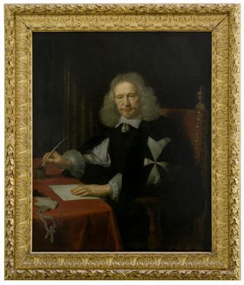 Portrait of Jean Jacques II de Cordon d`Evieu