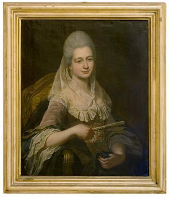 Portrait of Maria Amalia Grognet
