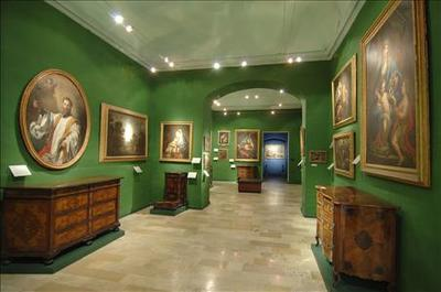 Italian Baroque paintings along with Maltese, Italian and French furniture, all dating to the 17th and 18th centuries.