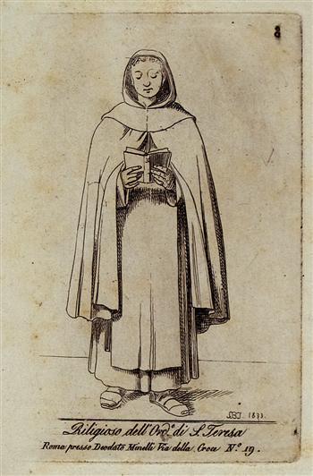 Religioso Dell' Ordine di Santa Teresa