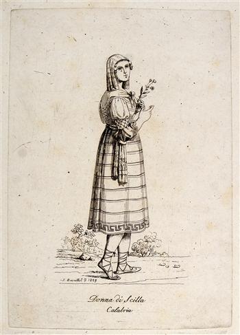Donna di Sicilia, Calabria