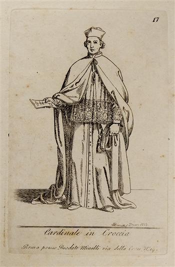Cardinale in Croccia
