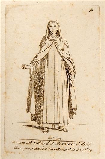 Monaca Dell' Ordine di San Francesco D' Assisi