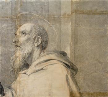 A monk Saint