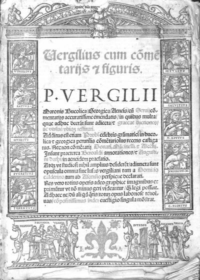 Vergilius cum co[m]me[n]tarijs [et] figuris