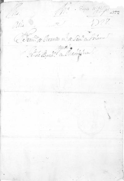 Expediente de Pruebas de Legitimidad y Limpieza de Sangre de Francisco de Aranda, para la obtención del Grado de Bachiller en Medicina