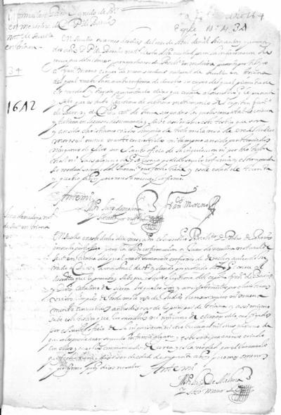Expediente de Pruebas de Legitimidad y Limpieza de Sangre de Pedro de Barrios, para la obtención del Grado de Bachiller en Medicina.